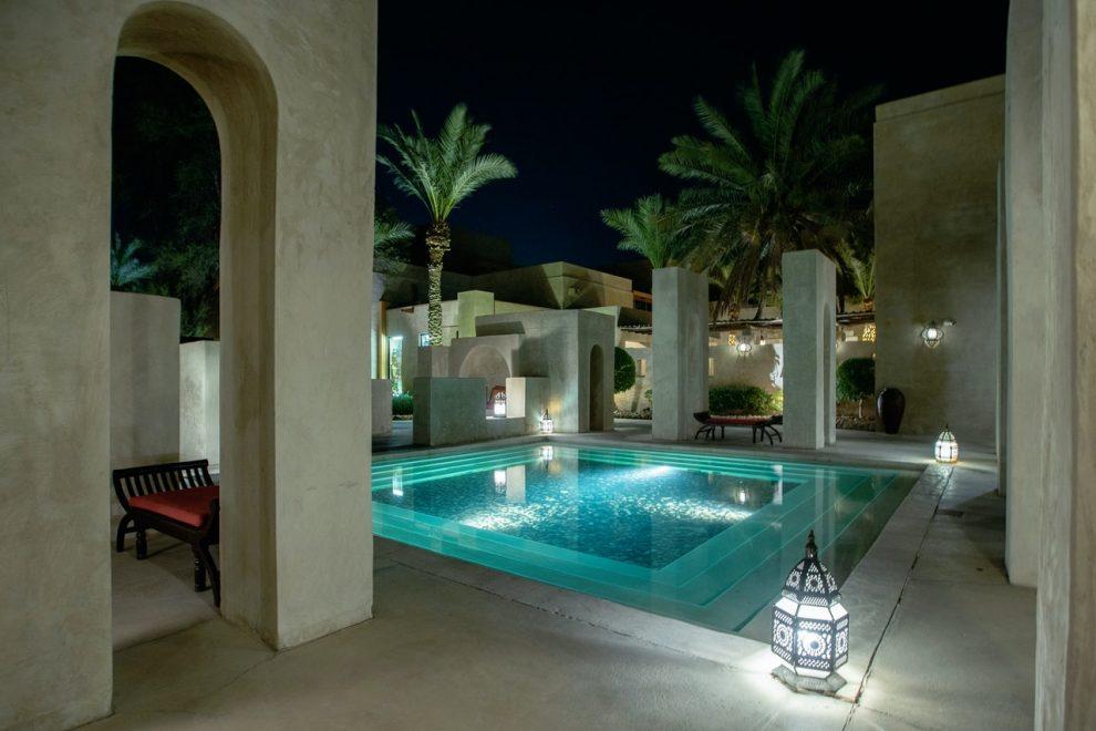 piscine carrée